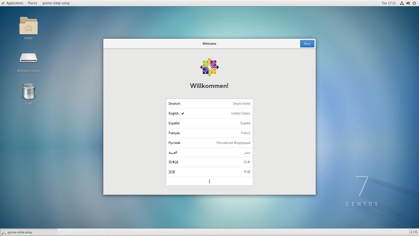 Графический интерфейс GNOME